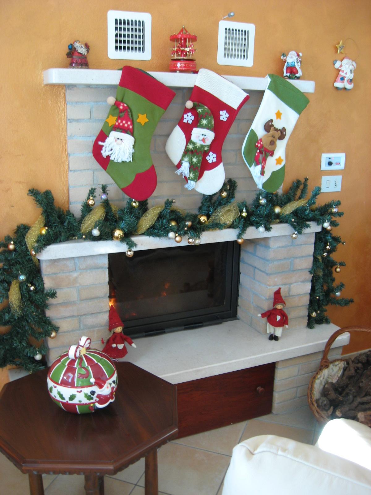 Carta e cuci dicembre 2012 for Caminetto finto natale