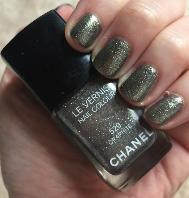 My 2015 in Nails, nail polish roundup, nail polish, nail lacquer, nail varnish, manicure, #ManiMonday, Chanel Graphite