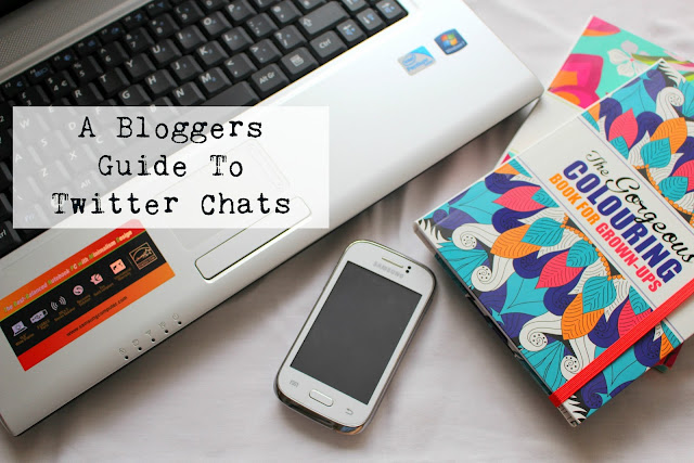 Bloggers Guide times Twitter Chats blogging