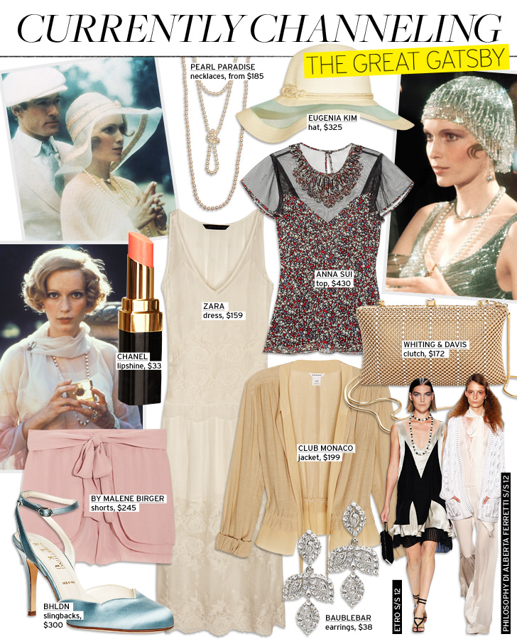Fashionista Jenn The Great Gatsby Fashion Mise En Scene