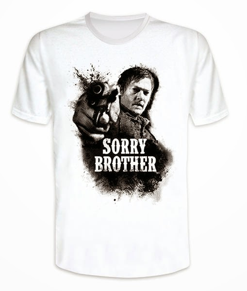 Camiseta Daryl Dixon