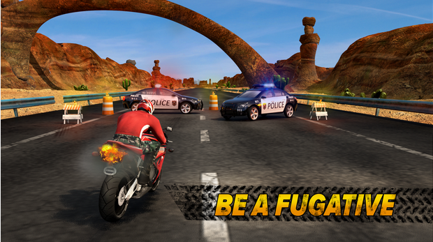 highway rider android game screen shots