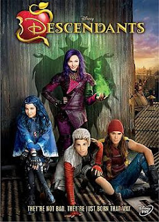 dvd cover- Descendants