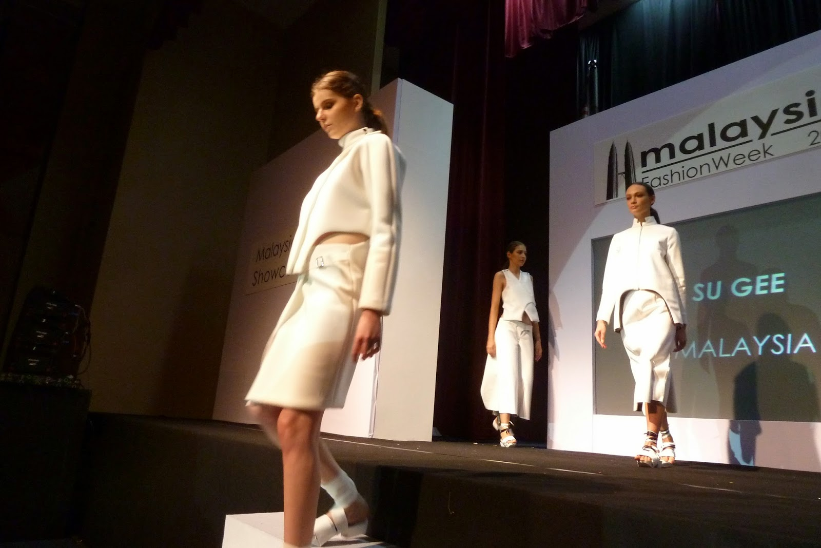 Fashion Show 2014 Malaysia KEE HUA CHEE SHOW MODELS