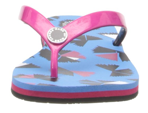 Marc by Marc Jacobs Women's Fuschia Jelly Flip Flop