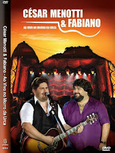 DVD - Cesar Menotti e Fabiano Ao Vivo no Morro da Urca