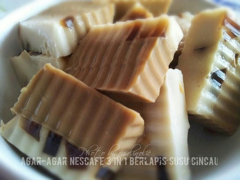 Agar-Agar Nescafe 3 IN 1 Berlapis Susu Cincau