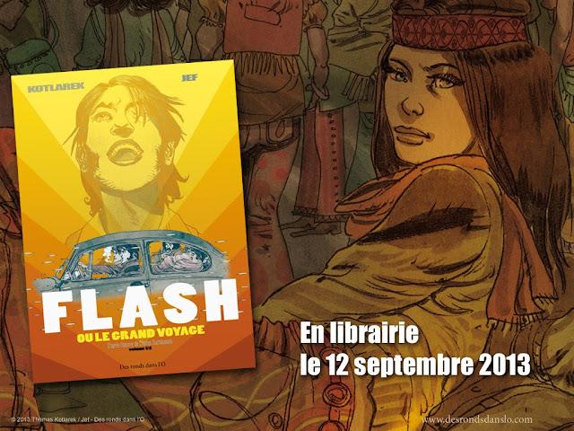 Flash ou le grand voyage, la BD d'après le roman de Charles Duchaussois - Voir la présentation