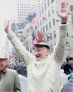 Ed Koch celebrating St. Patrick's Day