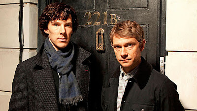 BBC Sherlock Benedict Cumberbatch Martin Freeman