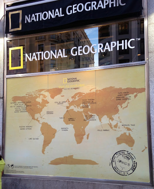 national geographic party in madrid