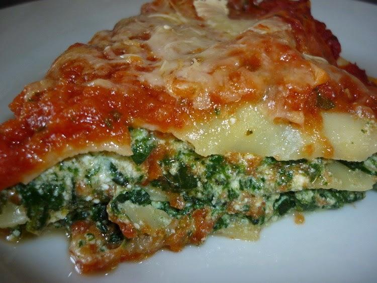 Recette du Lasagne aux épinards
