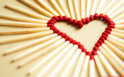 Happy Valentine Day My LoveValentine Day HD WalpaperHD Love Images (love matchsticks )