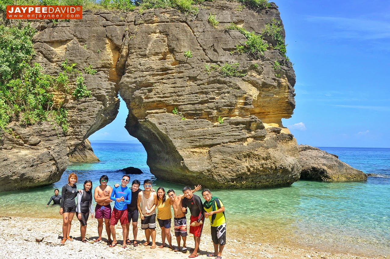 Ungab Rock Formation, Mongpong Island, Maniwaya Island, Marinduque, Philippines, the Heart of the Philippines, Balanacan Port, Itinerary, Accommodation, Hotel, Resort, #VisitPH2015, #VisitPhilippines2015, #itsmorefuninthephilippines