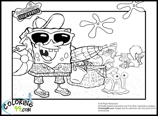Free Spongebob Coloring Pages