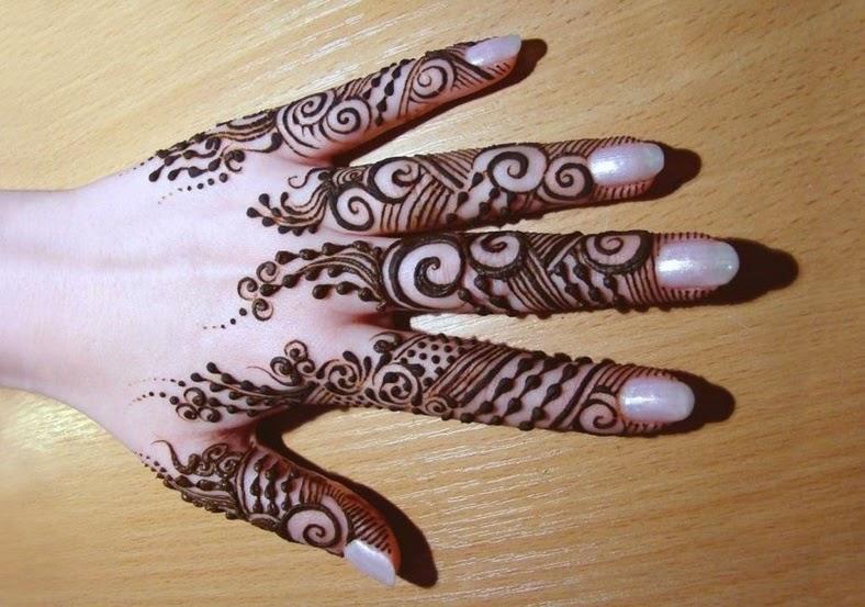 Fingers Mehndi Pics : Bridal mehndi designs latest best and beautiful fingers