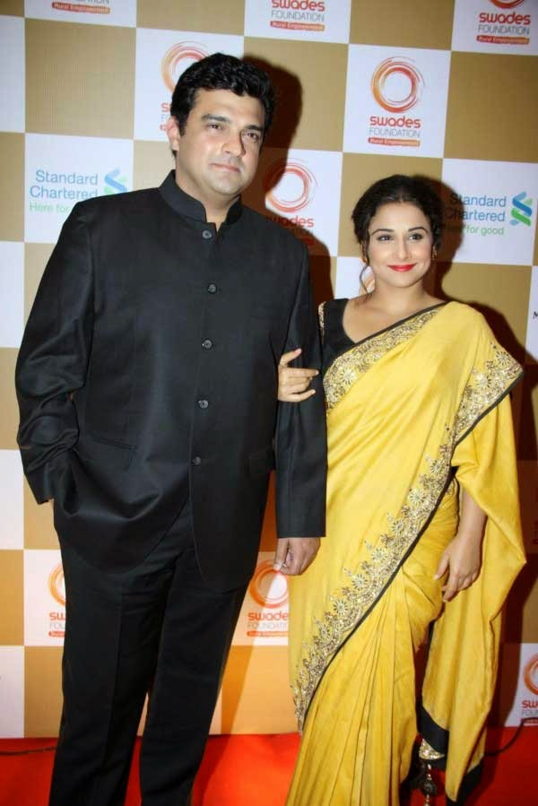 Siddharth Roy Kapoor and Vidya Balan at Swades Foundation Fundraiser show