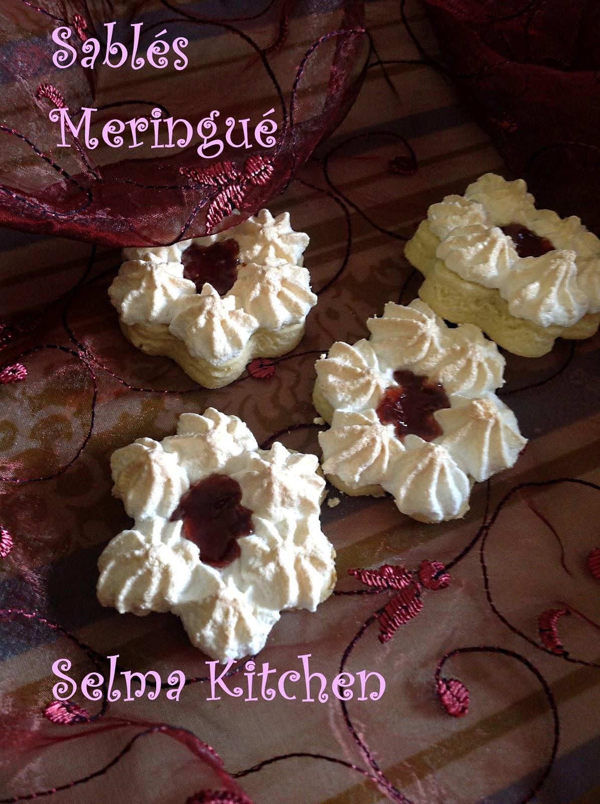 Sabl s meringu s a la confiture blogs de cuisine - Recette sable confiture maizena ...