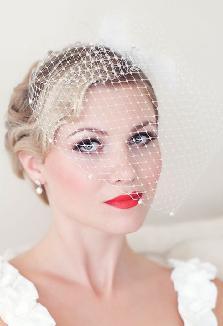 Vintage Wedding Day Makeup : I Do or I Dont to Bright Lips for the Wedding Day ...