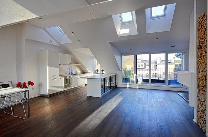 Casas minimalistas y modernas buhardillas modernas - Buhardillas con encanto ...