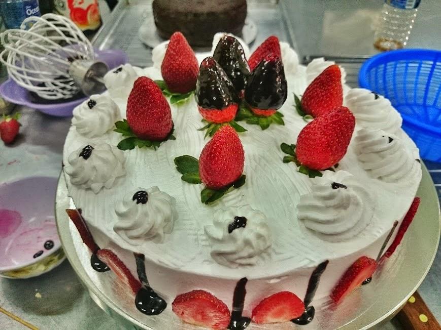 Seronoknya belajar buat kek!