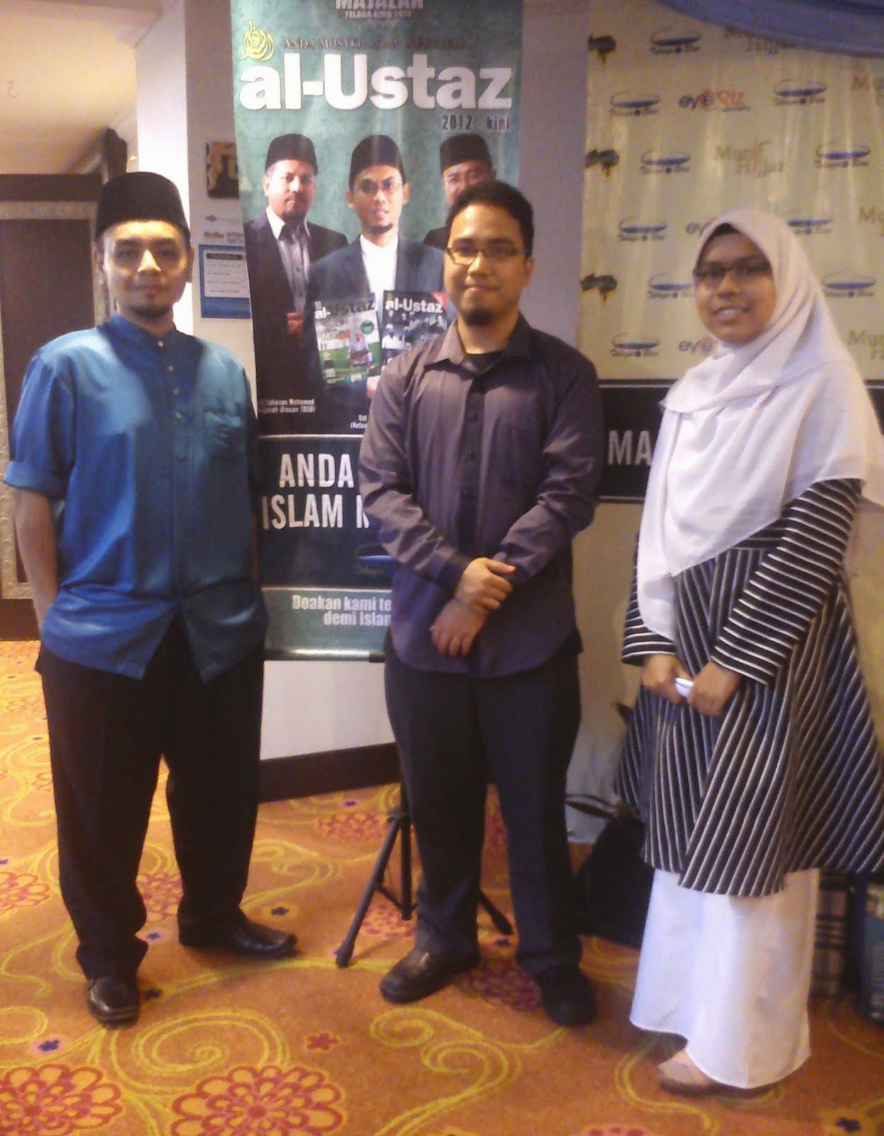Majlis Telaga Biru di Bluewave Shah Alam@ 2014