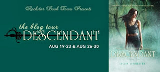"DESCENDANT ""ROCKSTAR"" BOOK TOUR!"