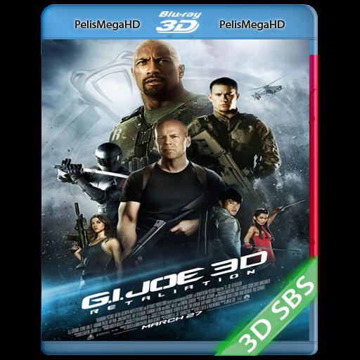G.I. JOE 2, LA VENGANZA (2013) 3D SBS 1080P HD MKV ESPAÑOL LATINO