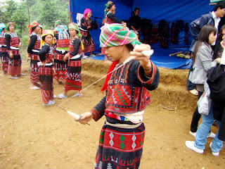 Quet Lang Festival of Xa Pho ethnic group Sapa