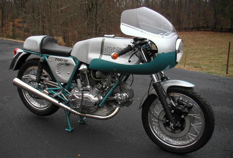 Motorcycles 750 Super Sport Ducati