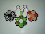 Tutorial llaveros de hexagonos