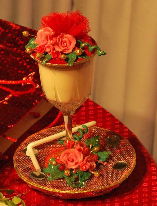 Best ideas for doodh pilai glass 12 doodh pilai milk for Wedding glass decoration