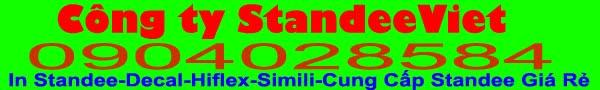 In Standee giá rẻ | Chuyên Cung cấp standee giá rẻ tphcm