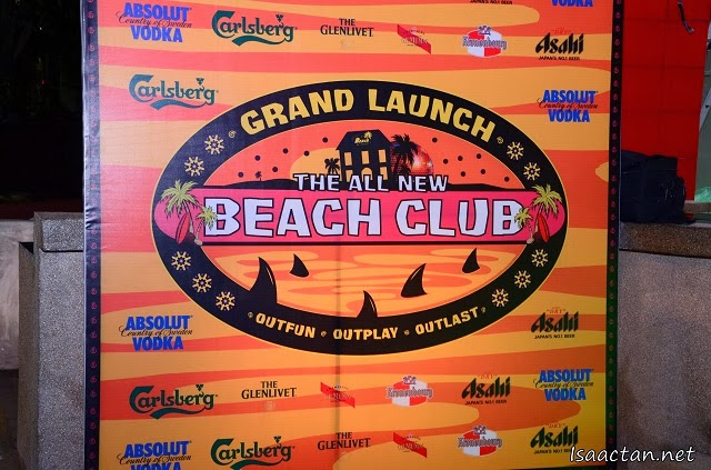 All New Beach Club Cafe Mark 1.2 Grand Launch