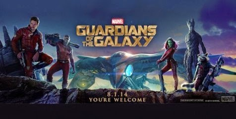 Film Guardians of the Galaxy Agustus 2014