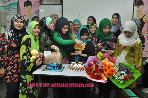 kek dan bunga for cdm adibah karimah, premium beautiful top agent from glam