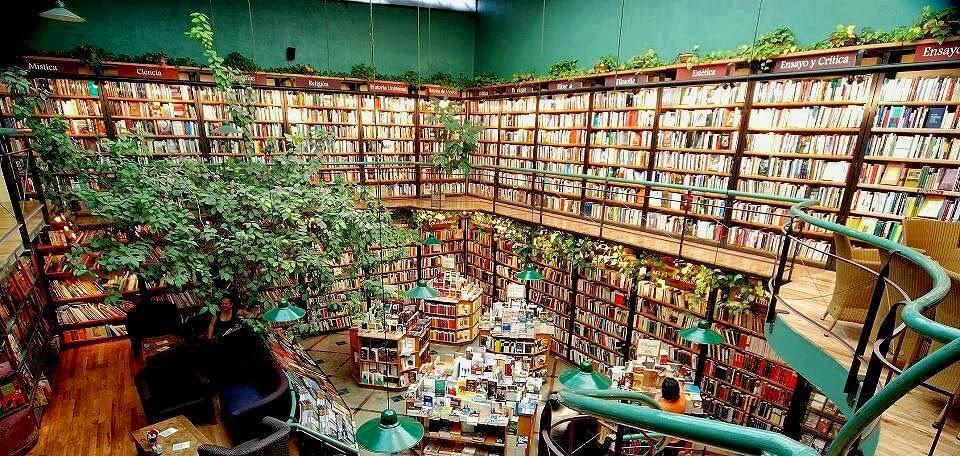 libreria El Péndulo, Mexico city