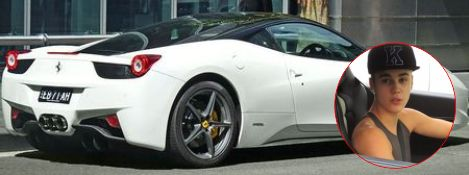 Justin Bieber's Ferrari caused Photographer Death