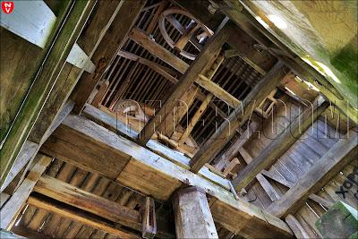 Механизмы внутри мельницы