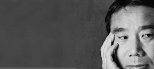 Smile Celebrity Mask Flat Card Face Haruki Murakami