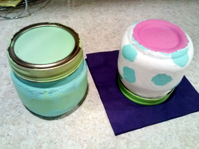 painted keepsake jar #Disneyside party craft