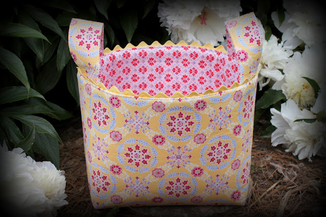 Sew4Home Fabric Basket