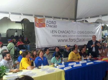 Juramentado Comando Simón Bolívar del Municipio Chacao
