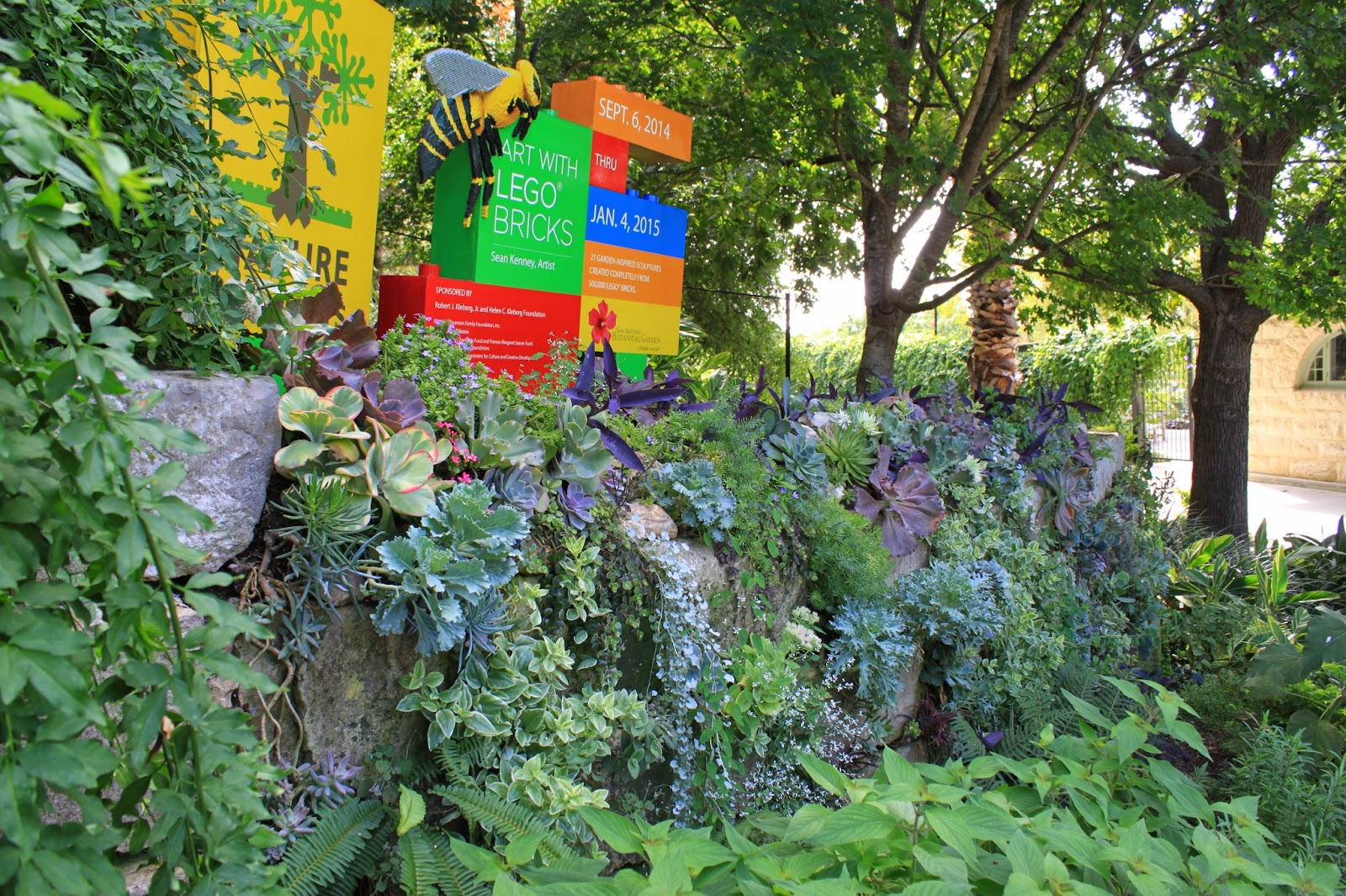 The Occasion Was A Talk By Don Clowe, Retired Attorney And Volunteer At The  SABOT, Who Created And Maintains The Wall. Donu0027s Own Inspiring Garden Was  ...