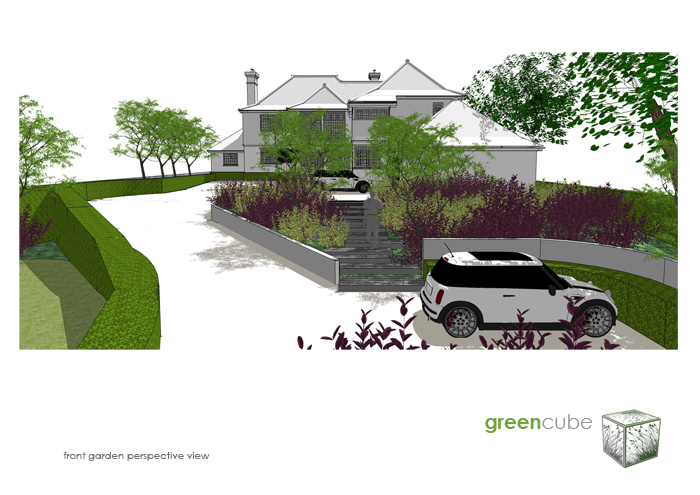 greencube garden and landscape design UK Garden Landscaping