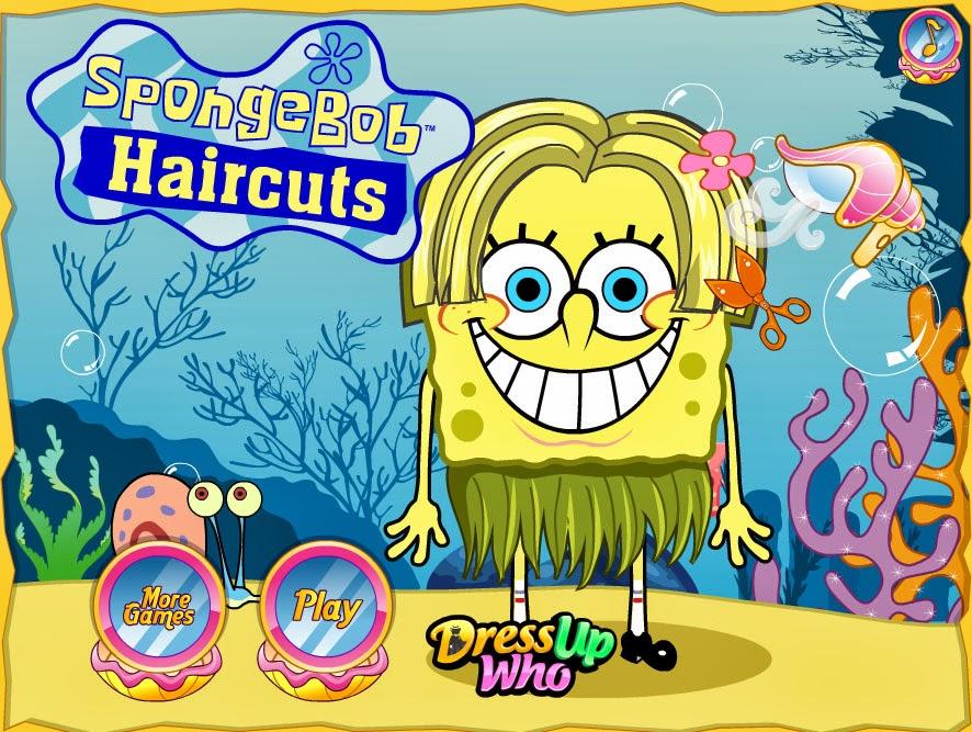 spongebob haircut games