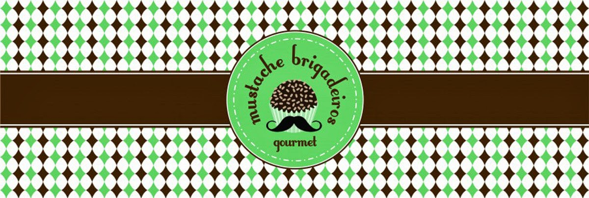 Mustache Brigadeiros