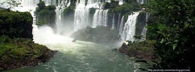 Image couverture facebook cascade d'eau