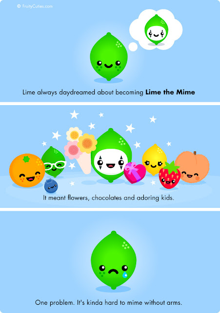 cartoon lime jokes