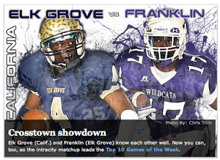 Franklin vs. Elk Grove: Maxpreps' national game of week